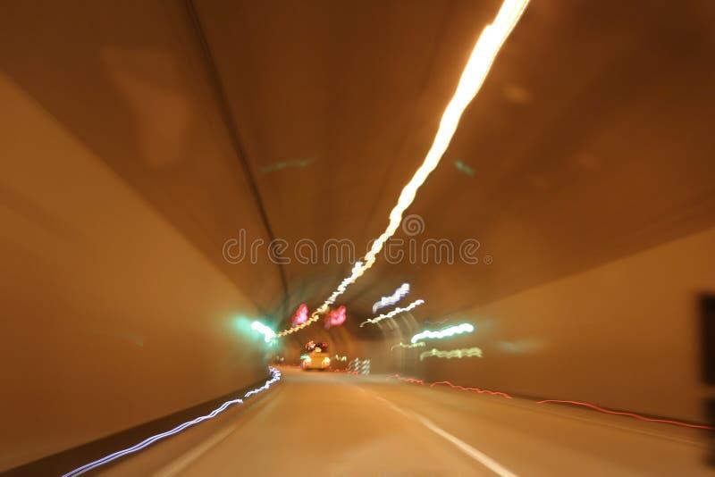 autostrada tunelu fotografia stock