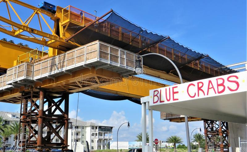 Autostrady budowa, Tampa fotografia royalty free