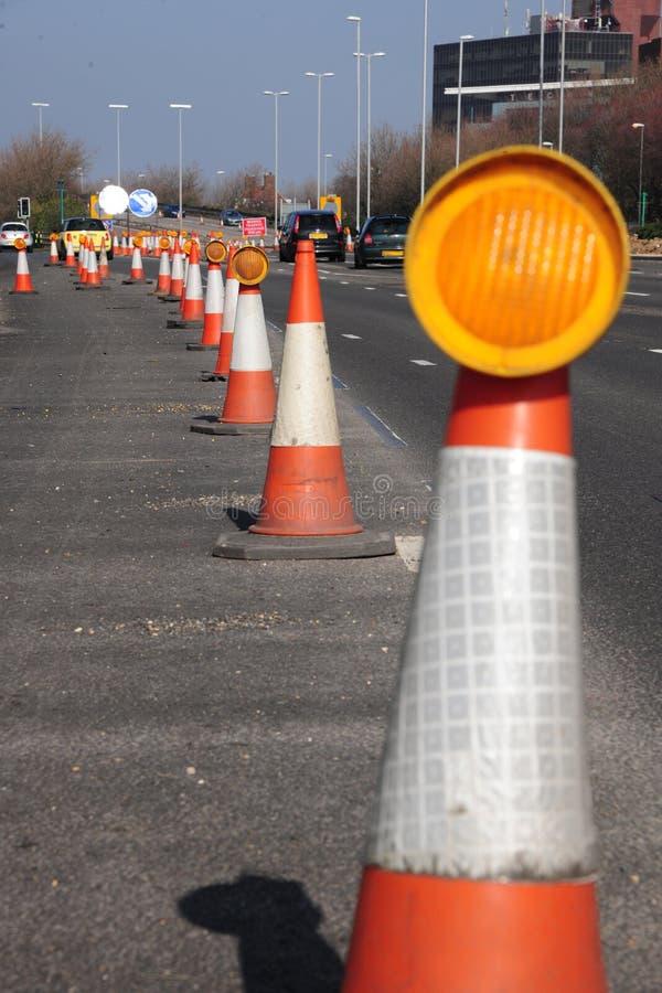 autostrady utrzymanie obrazy stock