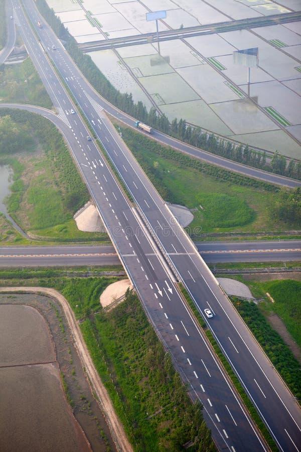 Download Autostrady złącze, antena obraz stock. Obraz złożonej z autostrada - 28964607