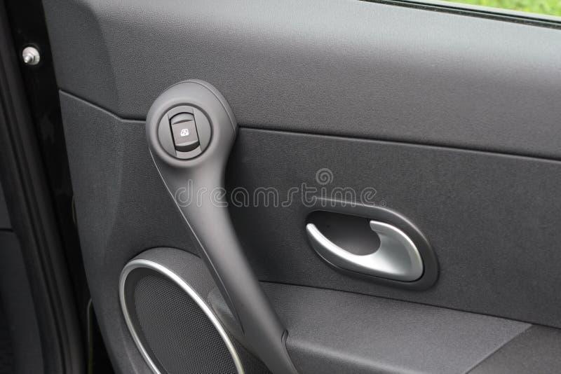 Autotür mit Griff lizenzfreie stockfotografie