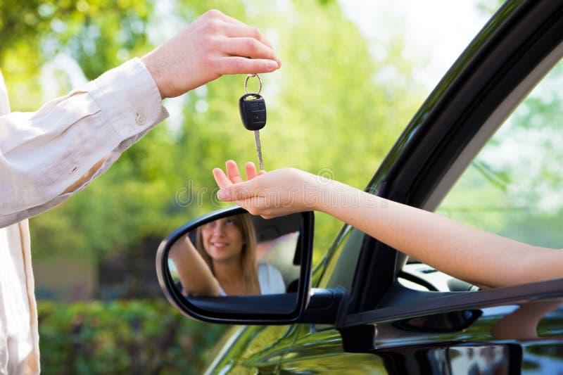 Autotasten stockbilder