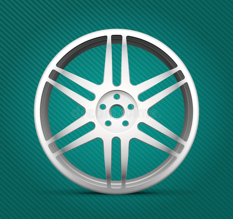 Autoteile lizenzfreie abbildung