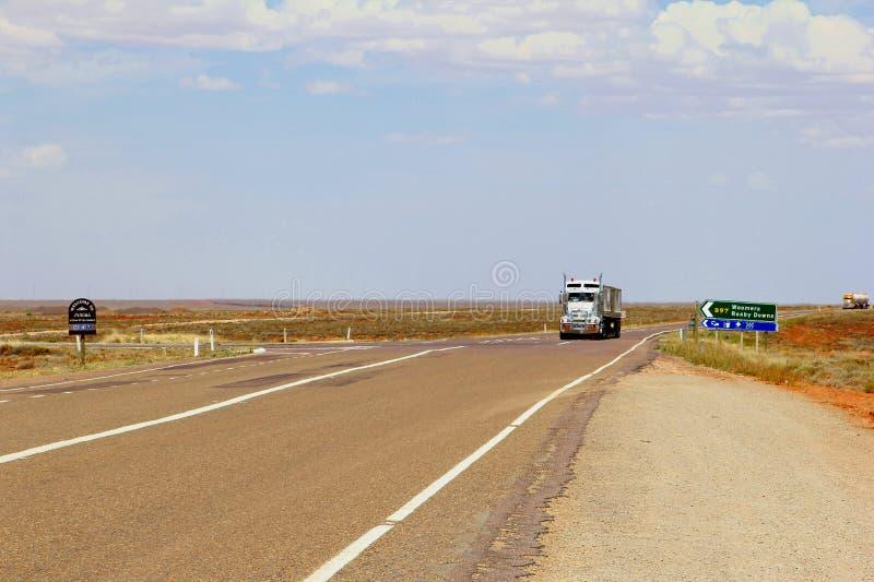 Autotreni Stuart Highway, Australia fotografie stock