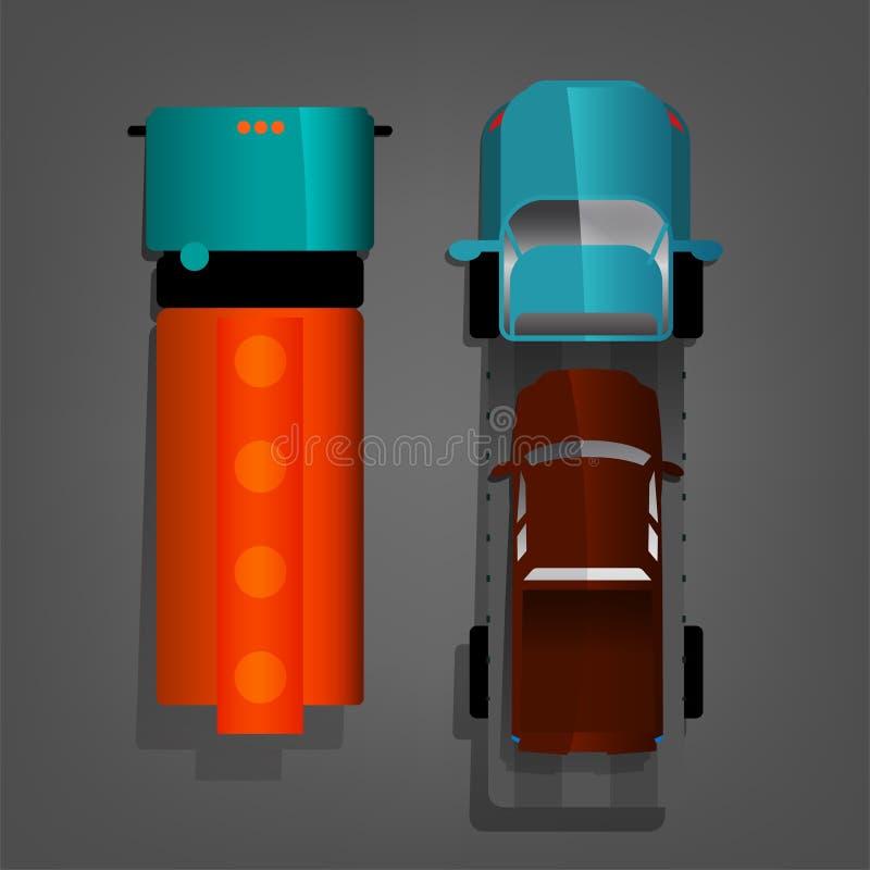 Autotruck vector image vector illustration