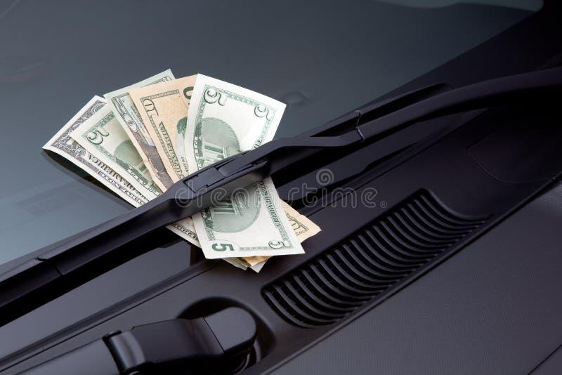 Autouitgaven stock afbeeldingen