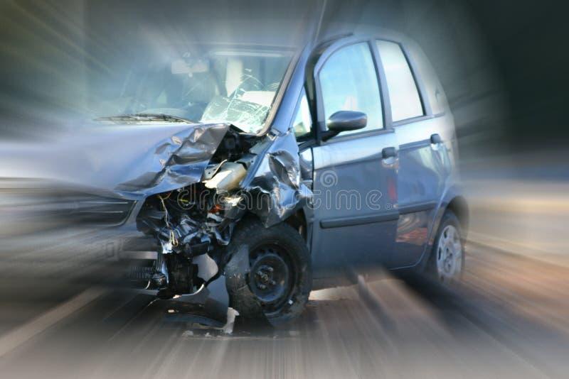 Autounfall lizenzfreie stockfotos
