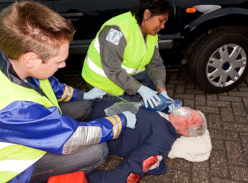 Autounfallverletzung lizenzfreies stockbild