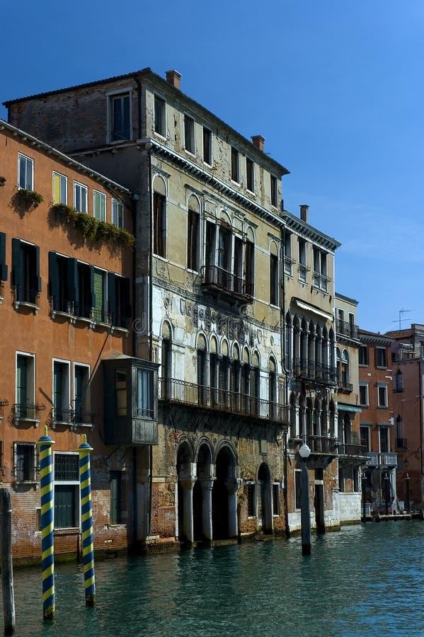 Autour du canal grand, Venise image libre de droits