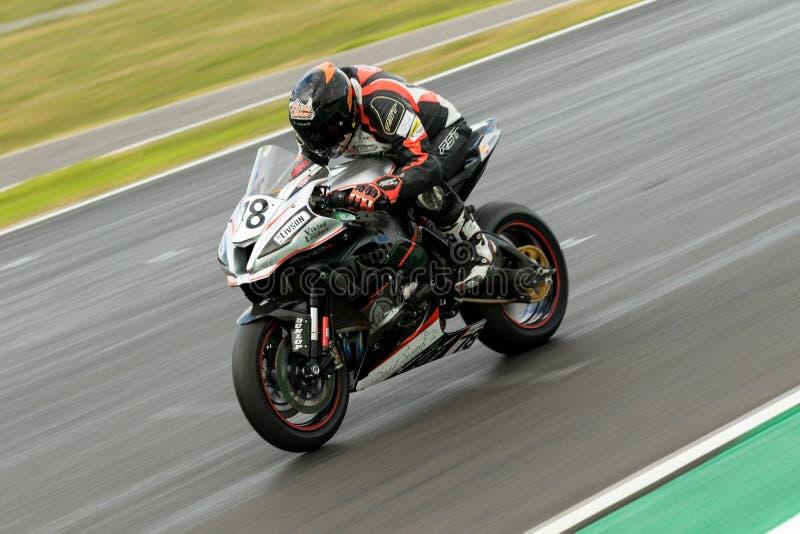 Autour du championnat 3 - 2017 australien de Superbike de finances de moteur de Yamaha image libre de droits