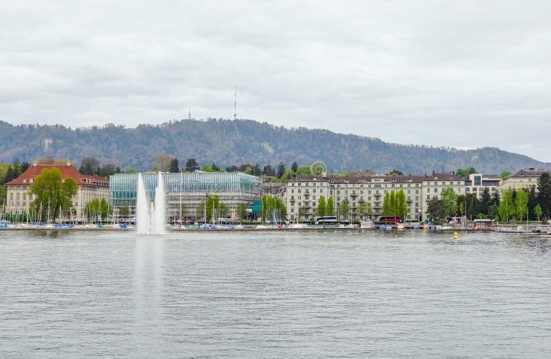 Autour du lac Zurich photos libres de droits