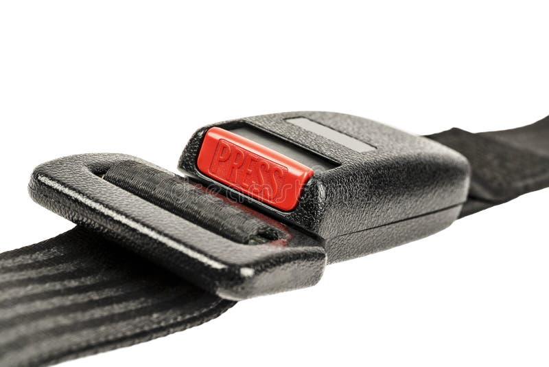Autoveiligheidsgordel stock foto