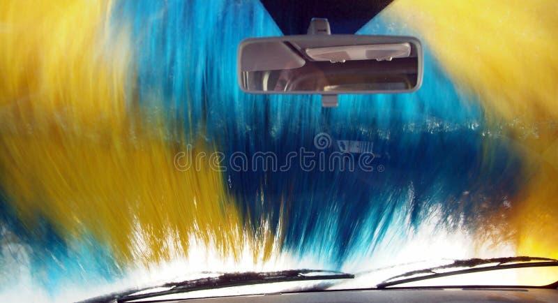Autowäsche lizenzfreie stockfotografie