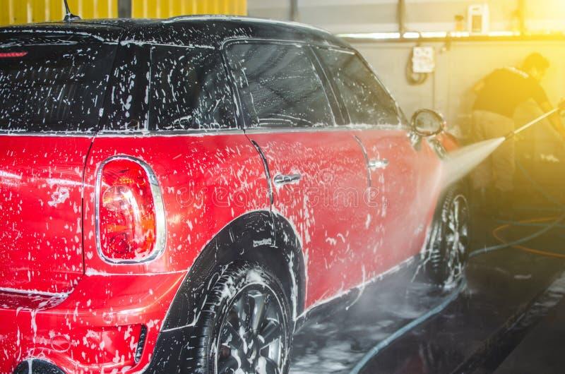 autowasserettebellen stock fotografie