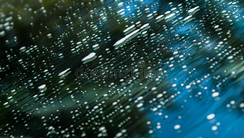 Autowasserettewindscherm stock foto's