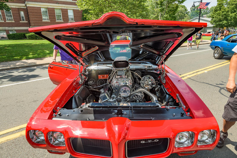 Autozeigung in Manchester Connecticut lizenzfreies stockfoto