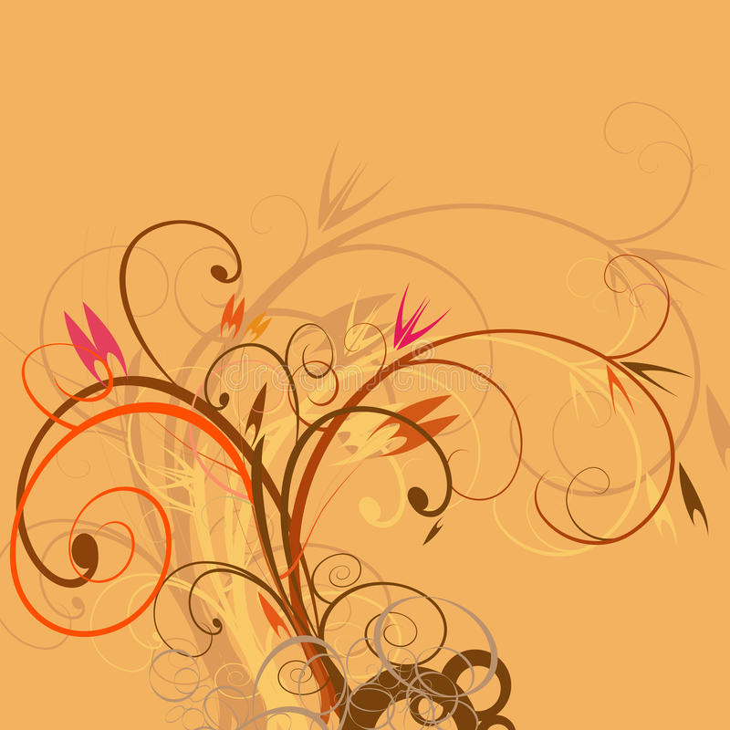 Download Autumn stock vector. Image of flower, cover, illustration - 11090639