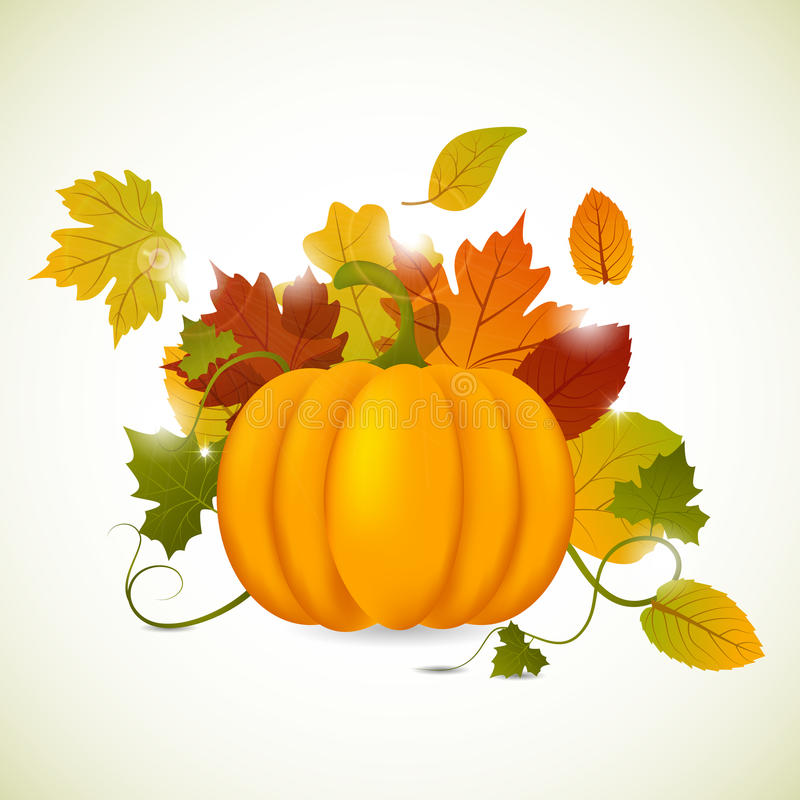 Download Autumn stock vector. Image of banner, nature, dinner - 21354283
