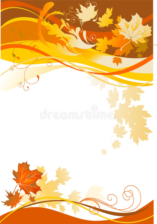 Free Autumn Abstract Background Royalty Free Stock Images - 10717469