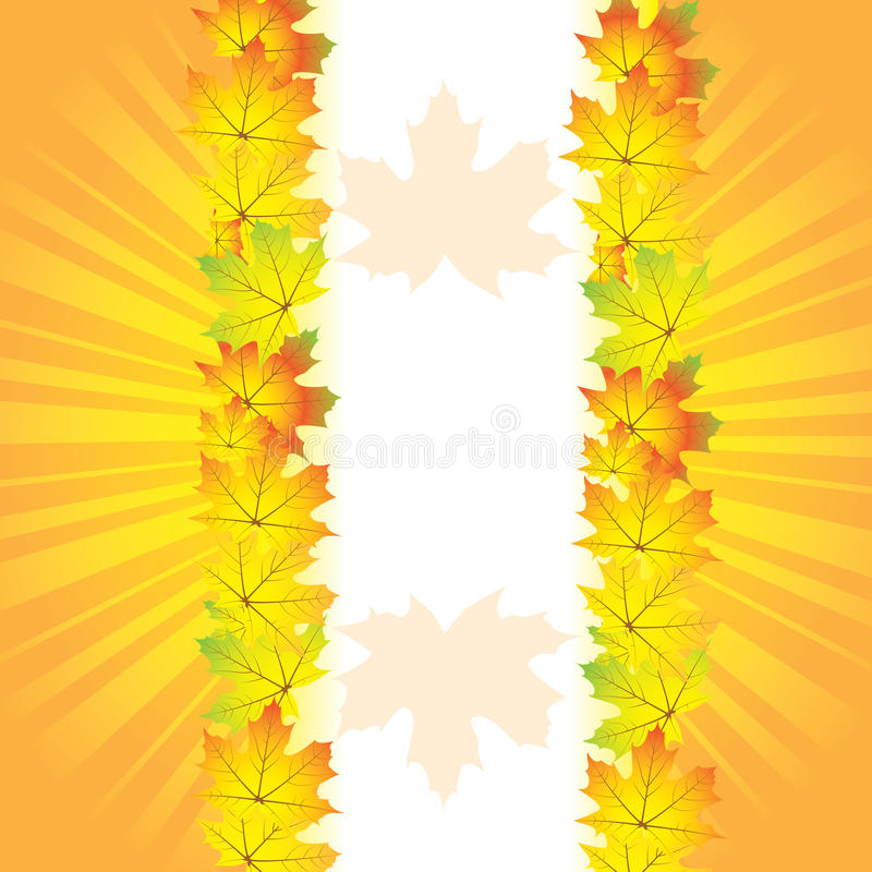 Download Autumn abstract background stock vector. Image of fall - 25952996
