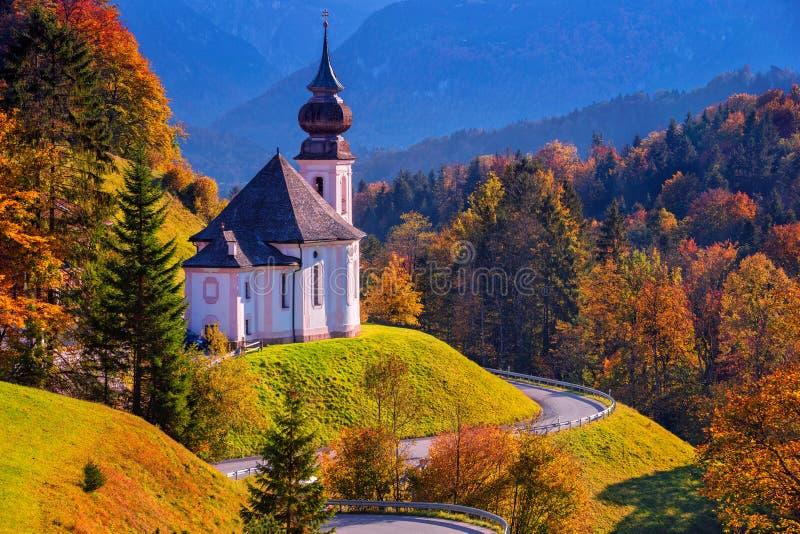 Autumn in Alps. stock image