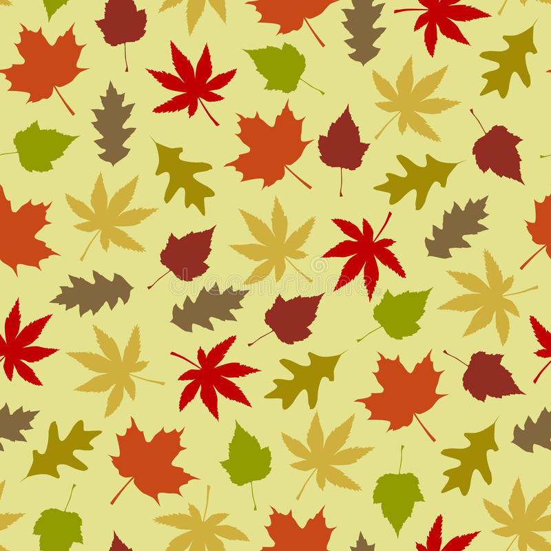 Download Autumn background stock vector. Image of flora, fall - 10836078