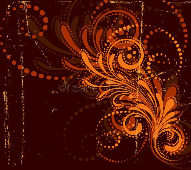 Autumn Background. Vector grunge background for autumn - designs vector illustration