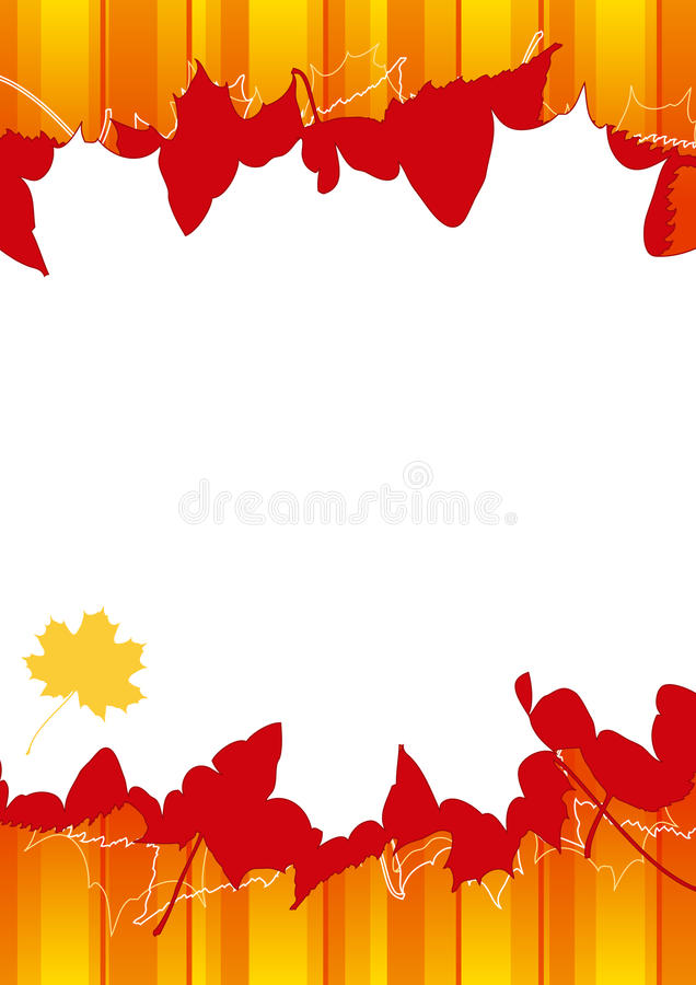 Download Autumn background stock vector. Illustration of backdrops - 10947035