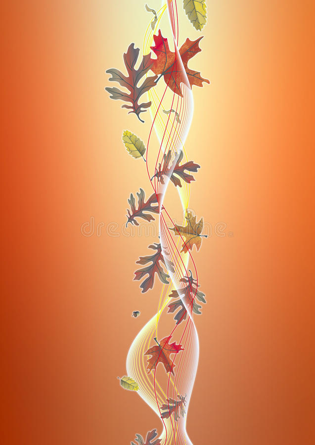Download Autumn background stock illustration. Image of orange - 11314541