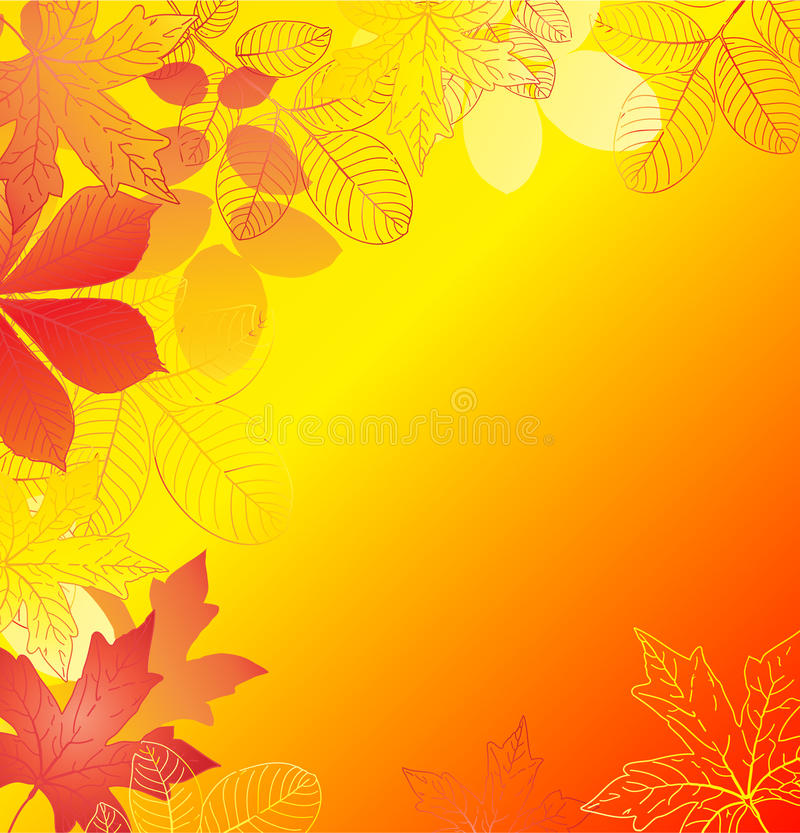 Free Autumn Background Royalty Free Stock Photography - 15869647