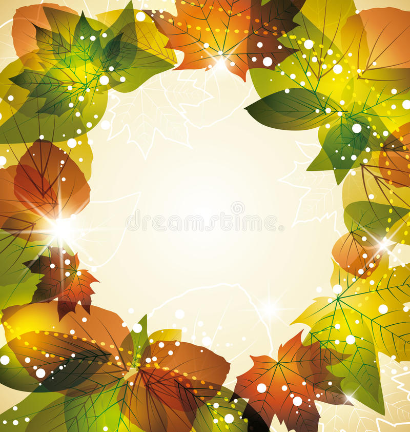 Download Autumn background stock vector. Illustration of closeup - 26843615