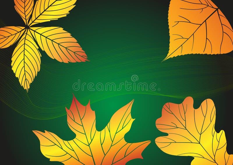 Autumn Background astratto. royalty illustrazione gratis