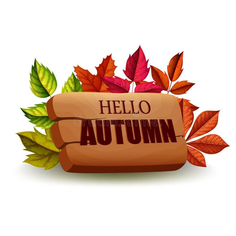 Autumn Background illustration stock illustration