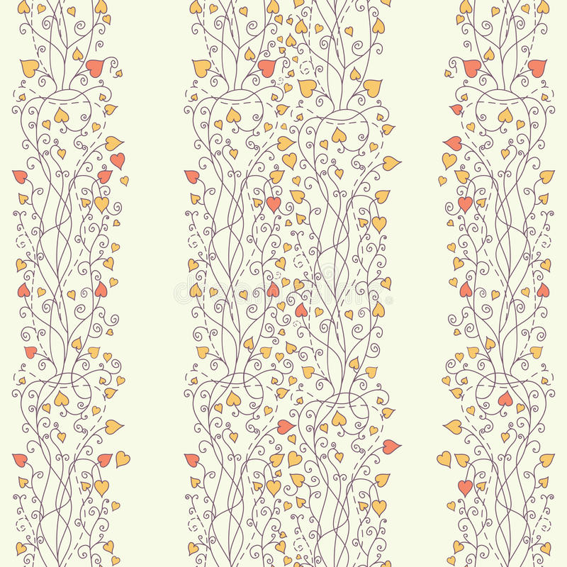 Autumn background with lace vector stock illustration