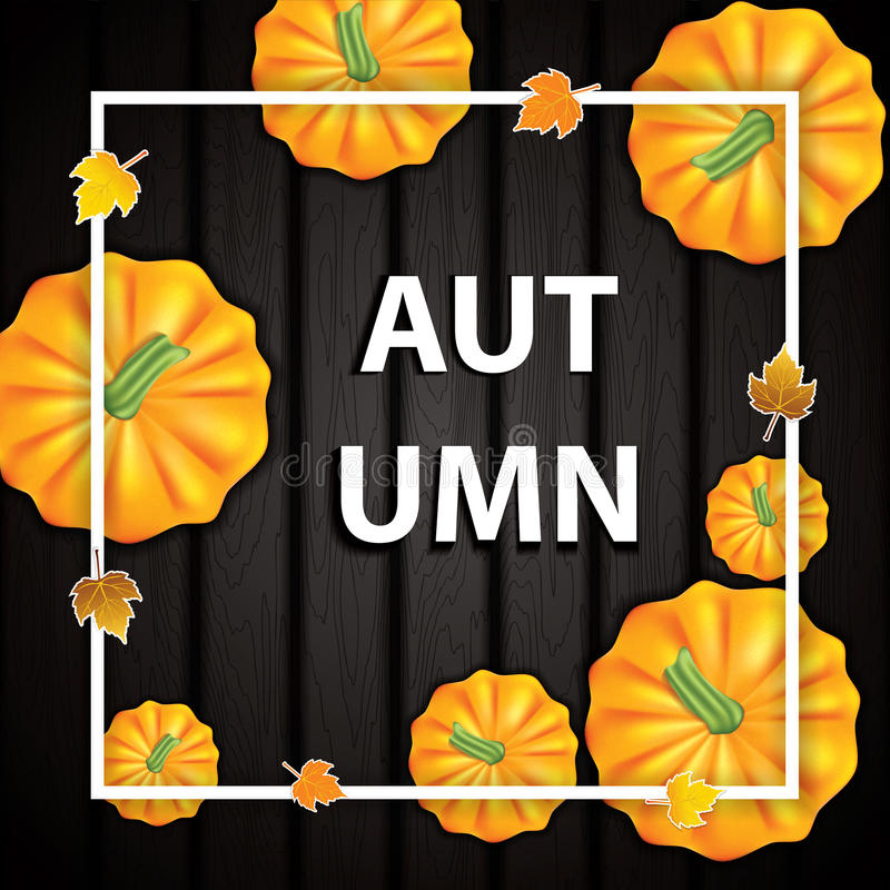 Autumn background royalty free illustration