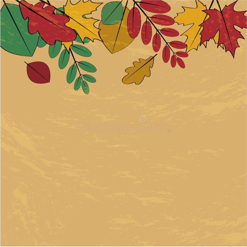 Download Autumn background stock vector. Illustration of dead - 32499993