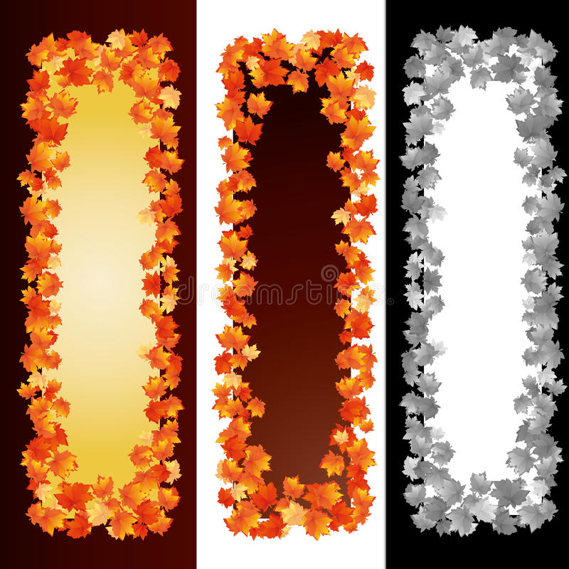 Autumn Banners 2 Royalty Free Stock Photo
