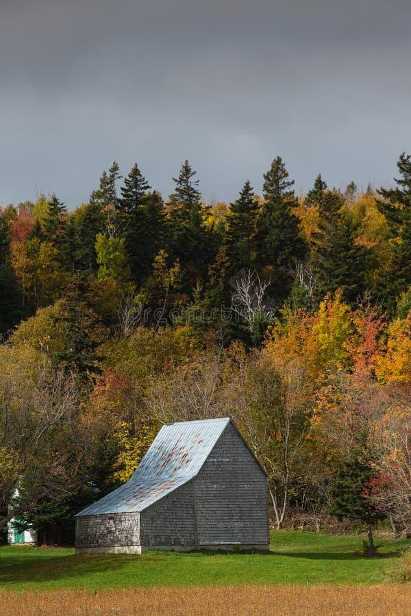 Autumn Barn rural photos stock