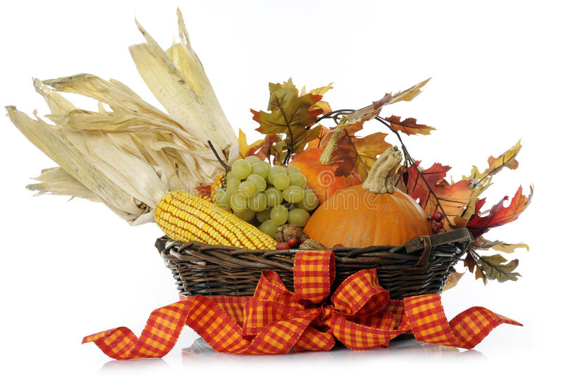 Download Autumn basket stock image. Image of life, food, leaf - 21616483