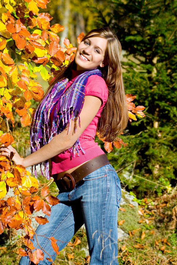 Free Autumn Beauty 22 Stock Image - 9572311