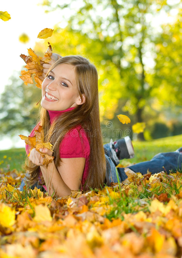 Autumn beauty 8 stock photography