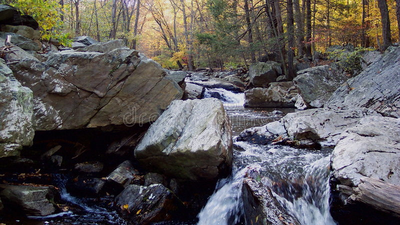 Download Autumn At Big Hunting Creek Royalty Free Stock Images - Image: 8409