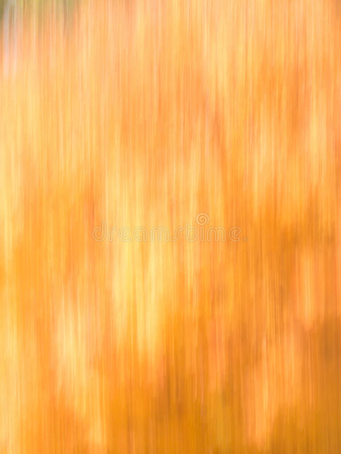 Autumn Blur - Oranges and Yellows royalty free stock photography