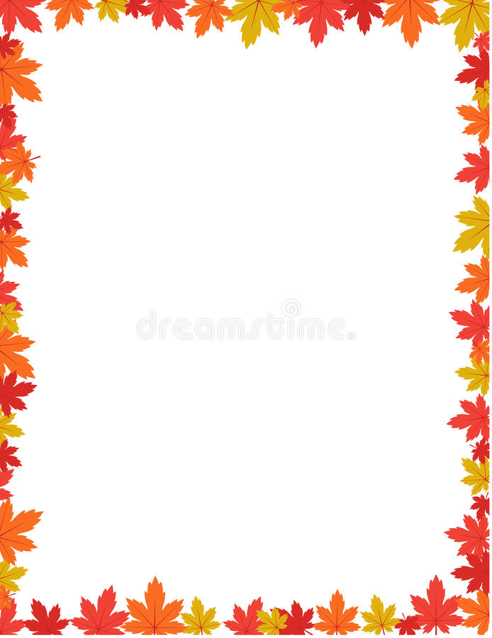 autumn border design