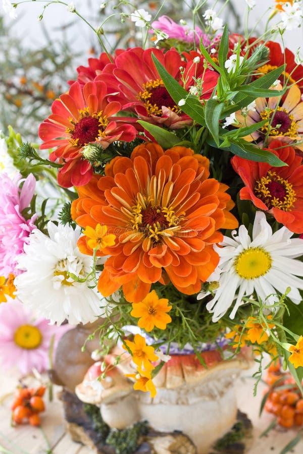 Download Autumn bouquet stock image. Image of vertical, orange - 26719429
