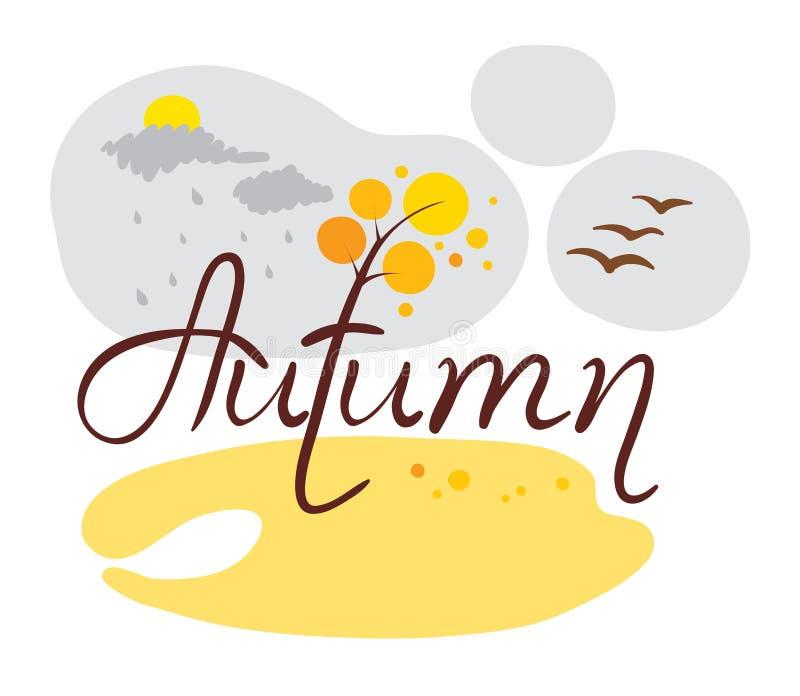 Autumn came stock photography