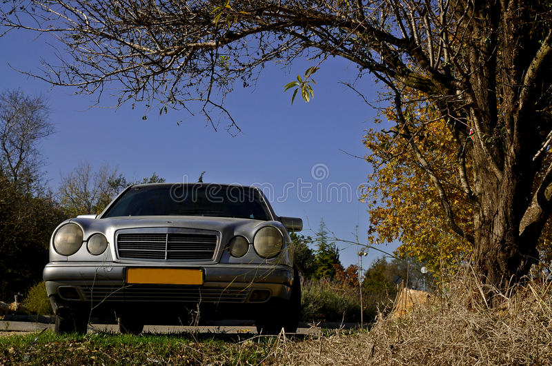 Autumn Car Royalty Free Stock Photography
