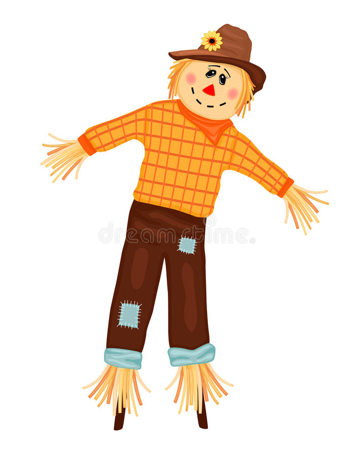 Download Autumn Celebrations With Scarecrow Stock Vector - Image: 15765356