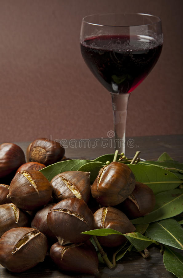 Download Autumn chestnuts stock image. Image of chestnut, season - 27670365