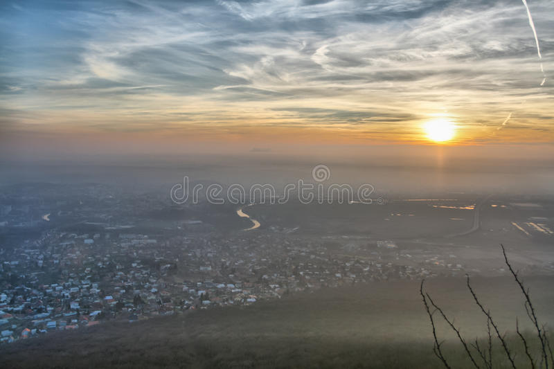 Download Autumn city stock photo. Image of europe, city, cityscape - 21975484
